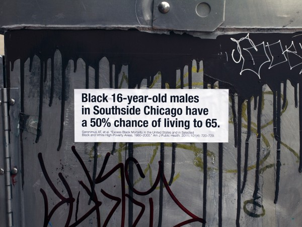 <span>Black male life expectancy in Chicago</span><i>→</i>