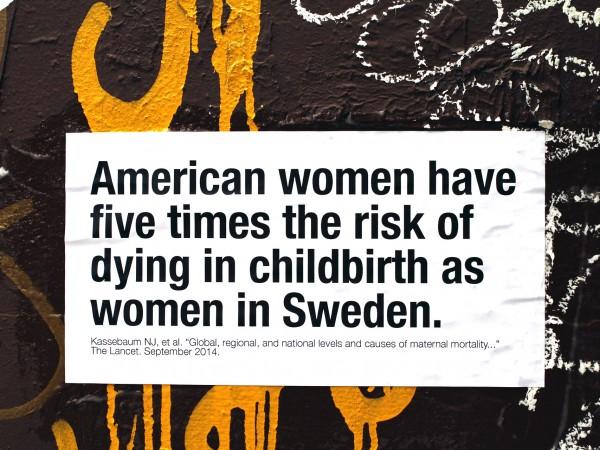 <span>American Maternal Mortality</span><i>→</i>